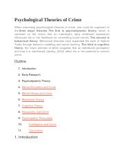 Psychological Theories of Crime.docx