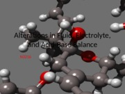Alterations in Fluid, Electrolyte, and Acid-Base
