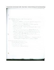interpersonal communication complete course essay I am so thrilled that you are asking me for advice based on all that i have learned in my interpersonal communication course communication is the foundation that a marriage is built upon communication can determine whether a relationship will be long lasting, or whether it will perish.
