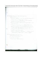 reflective essay on interpersonal skills