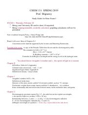 CHEM131-S19 Hour I Study Guide.pdf
