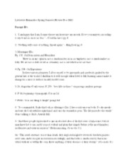 lit hum sp 2012 master study guide