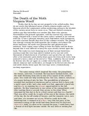 the death of the moth.docx