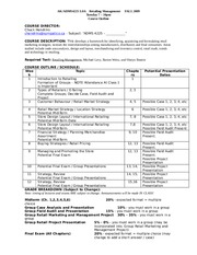 4225 Course Outline - Fall 2009 - Detailed - Print