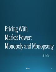 Lecture 10. Markt Power, Monopoly and Monopsony.pdf