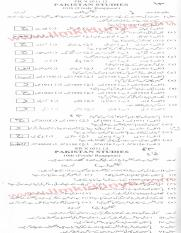 Past Papers 2012 Bannu Board 10th Class Pak Studies.pdf