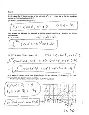 Final Exam A Solution Spring 2005 on Calculus and Analytic Geometry IV