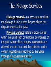 The Pilotage Services III-8.ppt