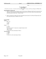 Sample-Exam-6-Solution on Strength of Materials