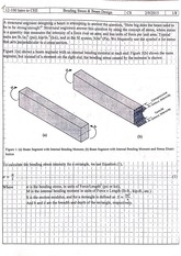 Bending Stress and Beam Design