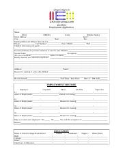 Employment Application-1