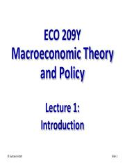 Lecture 01 - ECO 209 - S2015-2
