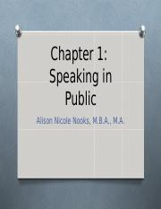 Chapter 1- Speaking in Public Online.ppt