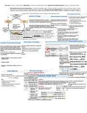 cheat sheet for operations mgmt.docx