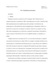 """ang munting tinig reflection essay Nagbahagi siya ng saloobin sa pamamagitan ng isang sanaysay pakinggan  natin ang munting tinig ni pierce: """"masarap mabuhay ng normal,."""