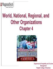 Chapter+4_World, National, Regional, and Other Organizations