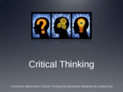 14-08 critical thinking for posting