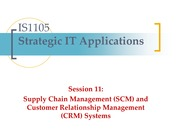 Session 11 - SCM and CRM