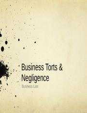 Seminar 7 Business Torts & Negligence(Students' version).ppt