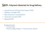 401_Biomaterials for drug delivery