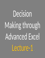 ch Advanced Excel Lecture 01.pptx