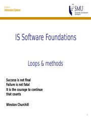 05-Loops-And-Methods-V1