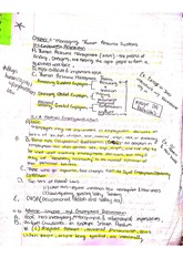 Ch. 11 Notes BUS 250