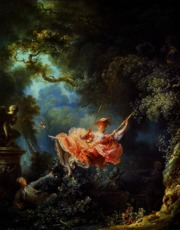 The swing, jean Honre Fragonard
