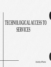 Technological Access to.pptx