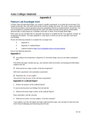 axia college bio 100 appendix a Sample content week-1 assignment: research in science axia college of  university of phoenix bio/100 assignment: research in science a.