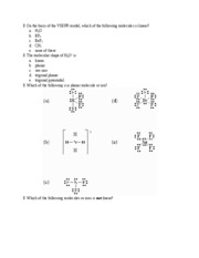 Chap 9 questions - Which of the following pairs of atoms are least ...