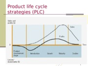 Product Life Cycle-Additional Information