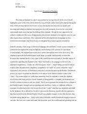 ap lang essay 2001