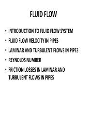 4 Fluid Flow in Ducts pdf - (4 Fluid Flow in Ducts(1 Introduction to