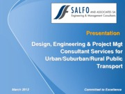SALFO Transport Presentation