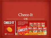 Cheeze It Marketing (Presentation)