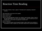Reaction time lecture Part 1(1)