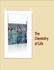 3. The Chemistry of Life.ppt