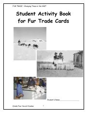 Fur-Trade-Student-Activity-Book