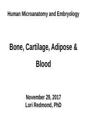 112917 Cartilage Bone Adipose Blood - student [Autosaved].pptx