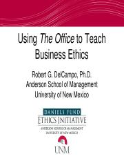 Using-The-Office-to-Teach-Business-Ethics.pptx