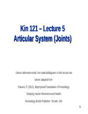 Kin121_L5_Articular_System_posted