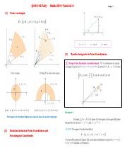 (2015-16 Fall) Math 2011 Tutorial 9