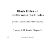 Lecture10 Black Hole1