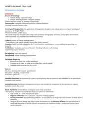soc 1010 study guide