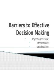Barriers to Effective Decision Making.pptx