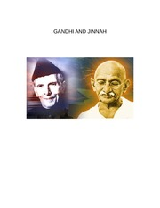 GANDHI AND JINNAH