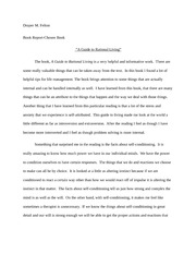 A Guide To Rational Living Essay