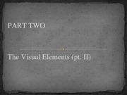 Lesson 05 - The Visual Elements.pt02