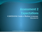 Lecture_Assessment 2 Expectations (c) James SARGEANT